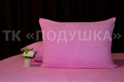 Купить розовые махровые наволочки на молнии в Ижевске