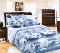 Купить постельное белье из бязи «Лебединое озеро» в Ижевске