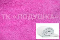 Купить розовый махровый пододеяльник  ТМ Подушка в Ижевске