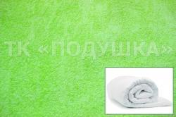 Купить салатовый махровый пододеяльник  в Ижевске